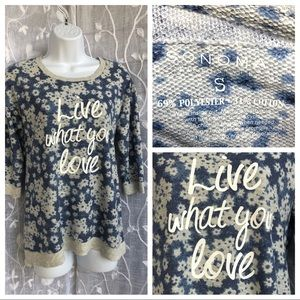 Sonoma Top- Live what you love- small